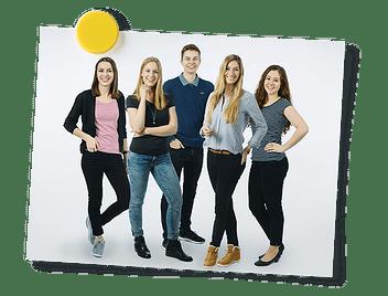 Contact Teaser Jugendteam der Schaffhauser Kantonalbank