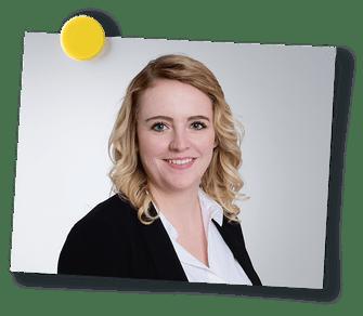 Contact-Teaser Bild von Michelle Germann, Mitarbeiterin Marketing der Schaffhauser Kantonalbank