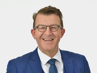 Werner Gut – Bereichsleiter Firmenkunden und Mitglied der Geschäftsleitung bei der Schaffhauser Kantonalbank