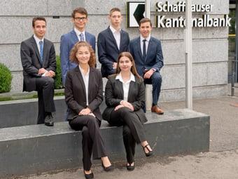 Lehranfänger der Schaffhauser Kantonalbank 2017